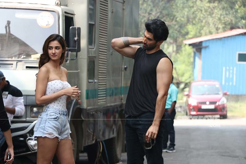Malang Aditya Roy Kapur And Disha Patani Get Super Chatty On The Sets Of Their Film