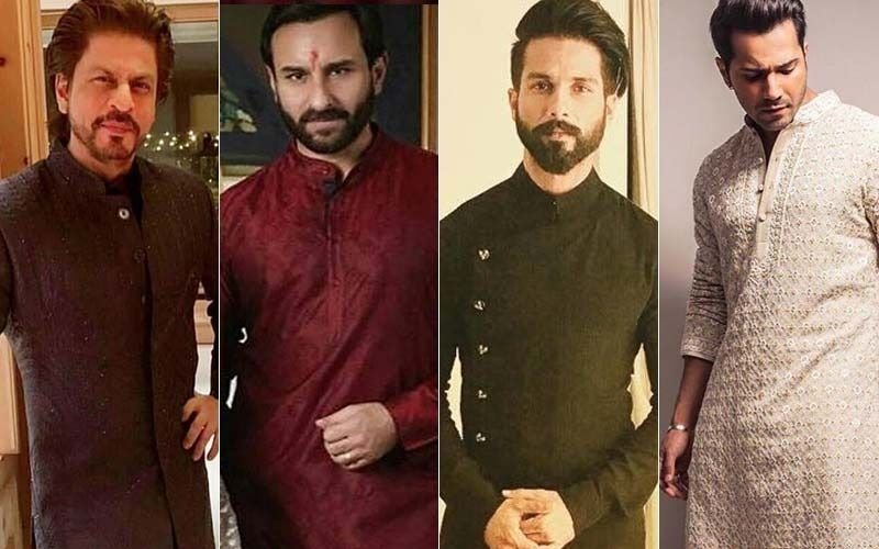 Bakra Eid 2019: Men, Take Ethnic Outfit Inspiration From Shah Rukh Khan, Saif Ali Khan, Shahid Kapoor, Varun Dhawan This Eid