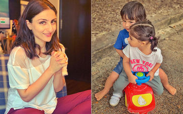 Taimur Ali Khan and Inaaya Khemu's Rakshabandhan Picture is 'AWW'dorable