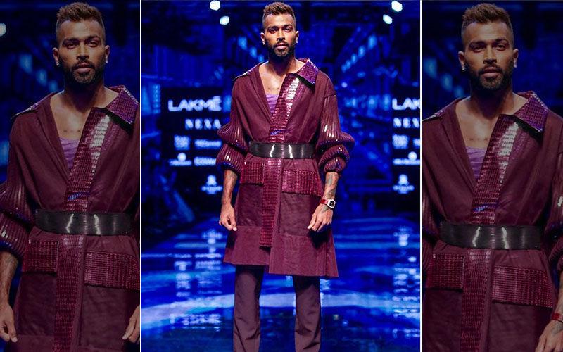 Hardik Pandya At Lakme Fashion Week 2019: Cricketer Makes A Smashing Statement Walking The Ramp For Designer Amit Aggarwal