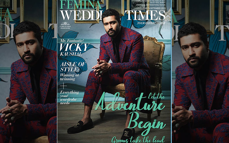 Vicky Kaushal Makes Casual Look Sexy In This Cover Picture For Femina Wedding Times Magazine