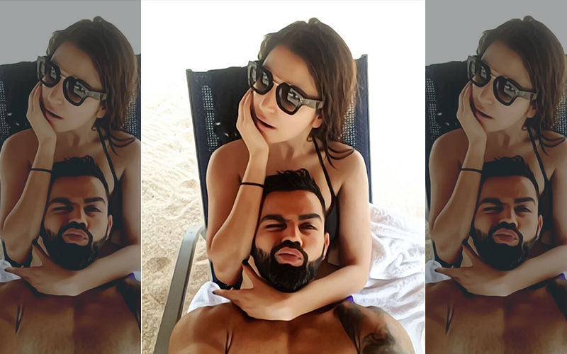 Anushka Sharma And Virat Kohli's Beach Picture Has Resulted In Hilarious Memes