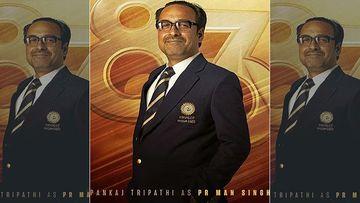 '83 First Look Poster: Ranveer Singh Calls Pankaj Tripathi AKA PR Man Singh As The 'Backbone Of Team India'