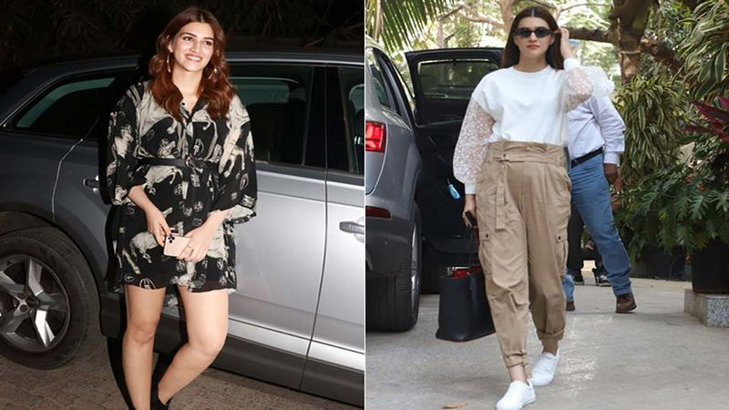 Kriti Sanon Gains 15 Kg For Her Next Mimi, Fans Call Her 'Chubby Sanon'