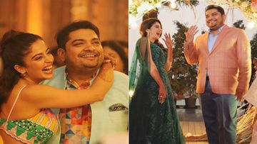 Bigg Boss Ex-Contestant Nehha Pendse Burns Up The Dance Floor At Her Sangeet Ceremony; Dances Like No One's Watching - Inside Pics And Videos