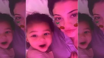 Kylie Jenner's Cute Little Chia Seed Stormi Is Particularly Chatty At Bed Time; Watch Her Baby Babble HERE