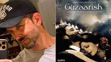 Hrithik Roshan Pens Down A Beautiful Dialogue From Guzaarish, As Film Clocks 10 Years Of Release