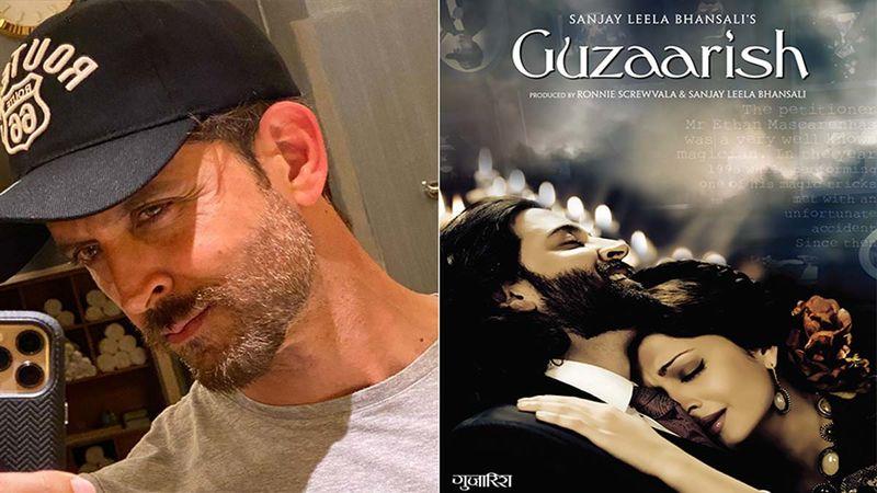 Hrithik Roshan Pens Down A Beautiful Dialogue From Guzaarish, As Film Clocks 10 Years Of Release