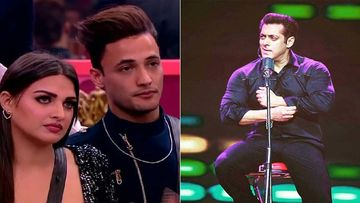 Bigg Boss 13: Salman Khan Schools Asim - Himanshi For Being So Unclear About Their Bond; Calls It A Case Of 'Rebound'