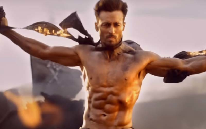 Baaghi 3 trailer screenshot