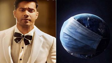 Varun Dhawan Shares A Masked Image Of Planet Earth, Asks Fans To Stop Messing Around
