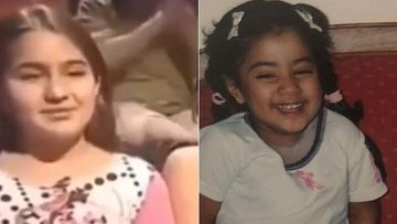 From Young Sara Ali Khan's Aadab To Janhvi Kapoor's Goofiness At Karisma Kapoor's Wedding - These Throwback Videos Are LIT