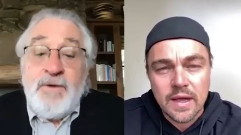 Leonardo DiCaprio And Robert De Niro Promise A Role In Martin Scorsese's Film To Those Donating To Coronavirus Relief; What A Way