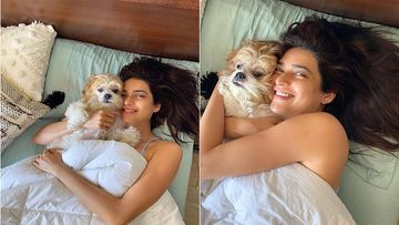 Khatron Ke Khiladi 10 Contestant Karishma Tanna Is A Fan Of Early Morn Hugs And Kisses In Bed; These Pics Are Quarantine GOLD