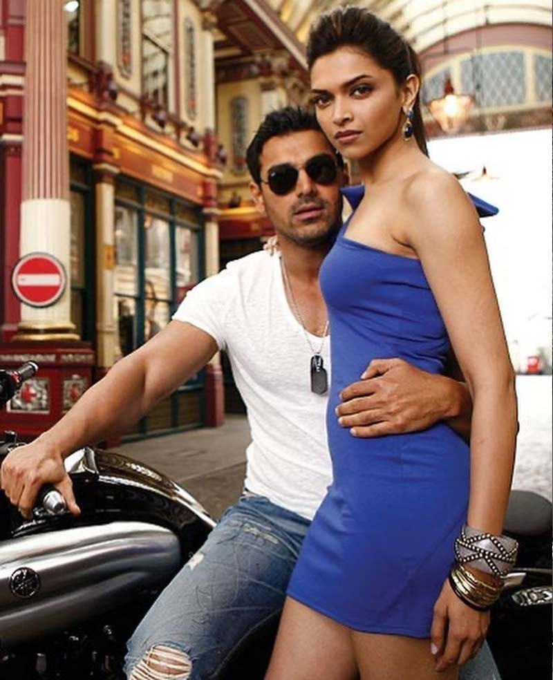 Olden Golden Pictures Of John Abraham And Deepika Padukone That Will Take You Back To Desi Boyz Days