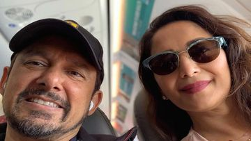 Madhuri Dixit And Hubby Take The TikTok Accent Challenge; Dhak Dhak Girl Gets Trolled For Her Americanized Pronounciations