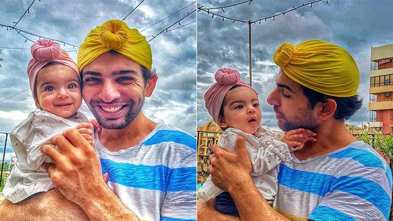 Father's Day 2020: Jay Bhanushali Is Super Excited For His First Big Celebration With His Toddler Tara, Poses And Preens Wearing Her Hairband