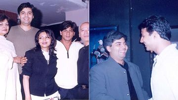 Karan Johar's Insta Throwback Post Featuring Shah Rukh Khan, Gauri Khan, Akshay Kumar, Uday Chopra And His Parent Is Sheer GOLD