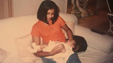 Birthday Girl Sonam Kapoor Holds A Tiny Janhvi Kapoor AKA 'Baby Jannu' In Her Arms In This Throwback Gem
