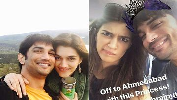 Kriti Sanon Shares A Goofy Picture Of Late Sushant Singh Rajput As 'Princess'; Don't Miss This Happy Moment