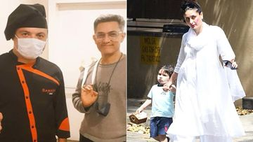 Aamir Khan Ditches The Mask As He Resumes Shooting For Laal Singh Chaddha In Turkey; Co-Star Kareena Kapoor Khan's Evening Out With Taimur