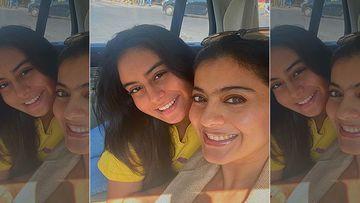 Kajol Flies To Singapore With Daughter Nysa Devgn