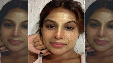 Naagin 4 Actress Nia Sharma Gets Ready To Meet Her Bae, Pampers Herself With A Gold Face Mask