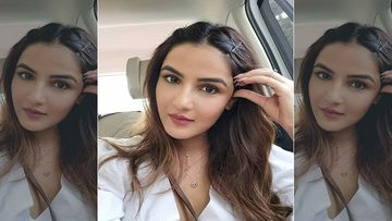 Bigg Boss 14: Sidharth Shukla's Bestie Jasmin Bhasin Poses For The Cameras Wearing Nothing But A Sexy Button-Down Shirt
