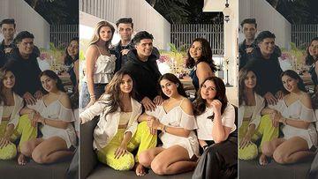 Bollywood's Pawri Gang: Sara Ali Khan, Kiara Advani, Parineeti Chopra And Rakul Preet Make It A Saturday Night To Remember; Join Karan Johar And Manish Malhotra For A Fun Evening
