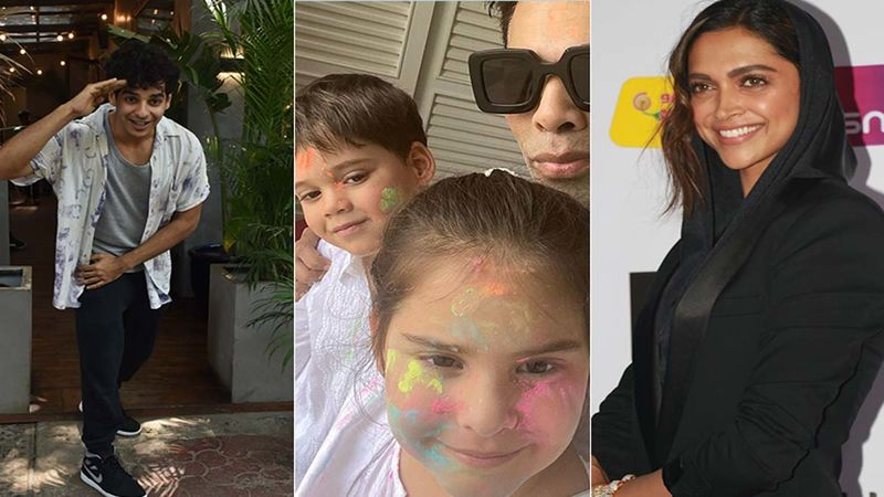 Ishaan Khatter Loves Karan Johar's Daughter Roohi's Hairband, Deepika Padukone Wants It - Here's What Went Down During KJo's Insta LIVE With His Babies