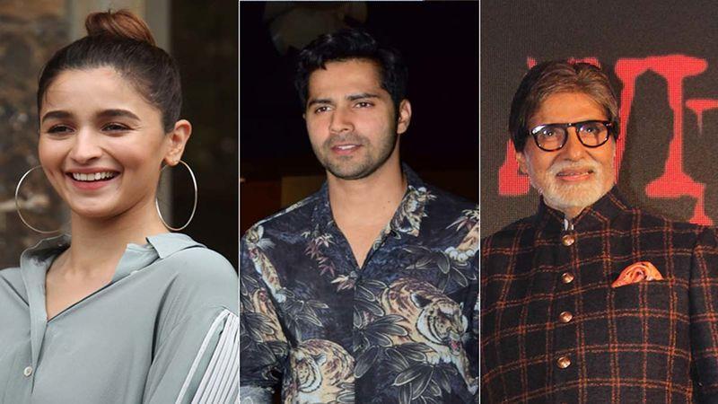 Alia Bhatt, Varun Dhawan And Amitabh Bachchan To Resume Shooting Their Next Films Gangubai Kathiawadi, Bhediya And Good Bye; More Deets On Date And Locations- Inside