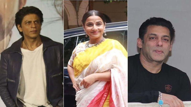 Fan Asks Vidya Balan To Choose Between Shah Rukh Khan And Salman Khan, Actress Has A Witty Reply
