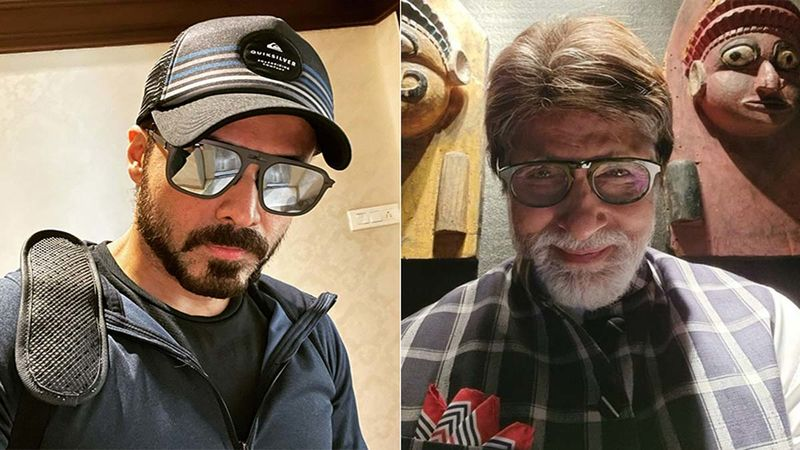 Emraan Hashmi Opens Up On Working With Amitabh Bachchan In Chehre; Says, 'It Was Surreal And Scary'