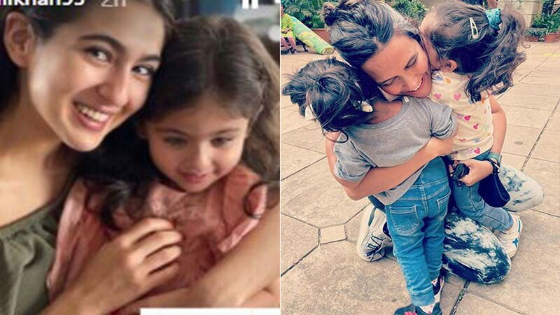 Sara Ali Khan Wishes Her Cute Cousin Inaaya Naumi Kemmu With Adorable Birthday Wishes, Actress Neha Dhupia Too Showers Love On The Little One