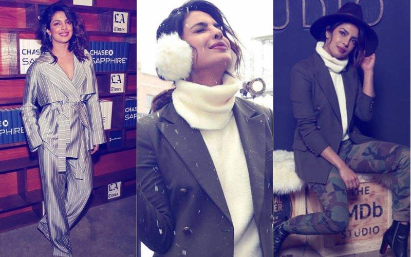 13 Pics Of Priyanka Chopra Promoting Her Hollywood Film A Kid Like Jake At Sundance