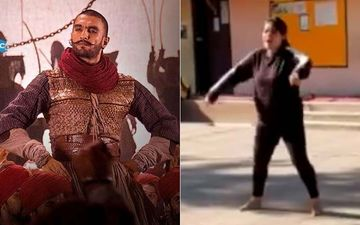An Enthu School Teacher Grooves To Ranveer Singh's Malhari Song - VIRAL VIDEO