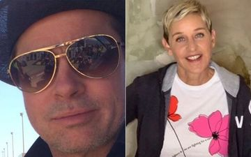 SHOCKING: Brad Pitt And Ellen DeGeneres Had A Common Girlfriend? Details Inside
