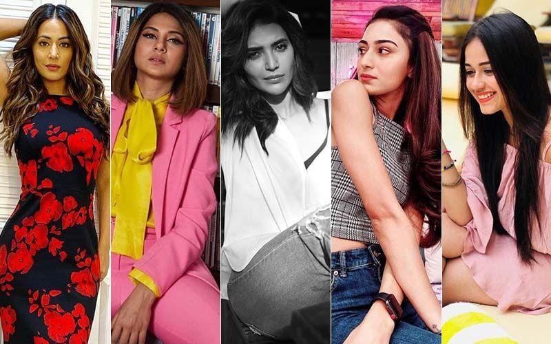 Hottest TV Actresses On Instagram This Week: Hina Khan, Jennifer Winget, Karishma Tanna, Erica Fernandes And Jannat Zubair