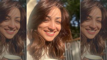 Bhoot Police: Yami Gautam Sips On Hot Tea On A Winter Morning In Dharamshala, Says Life Is Perfect - Pic Inside
