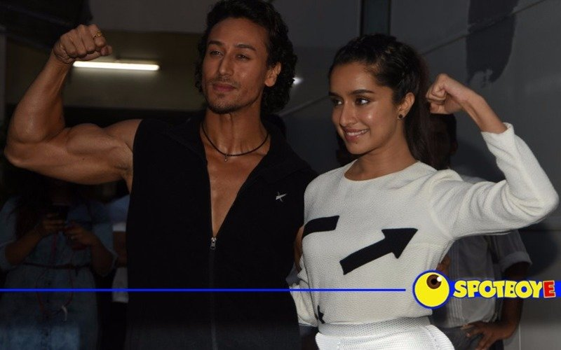 Tiger-Shraddha show off their rebel side at Baaghi trailer launch