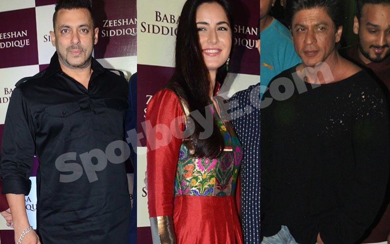 VIDEO: Salman-Katrina-SRK at Baba Siddiqui's Iftaar party