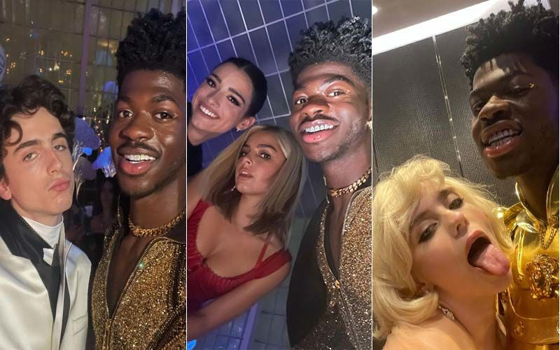 Met Gala 2021: Rapper Lil Nas X Pulled A Lady Gaga On The Red Carpet By Wearing Three Outfits One Beneath The Other
