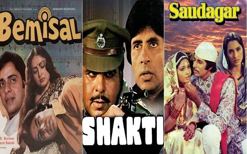 Bemisaal, Shakti and Saudagar - Three Neglected Amitabh Bachchan-Starrers