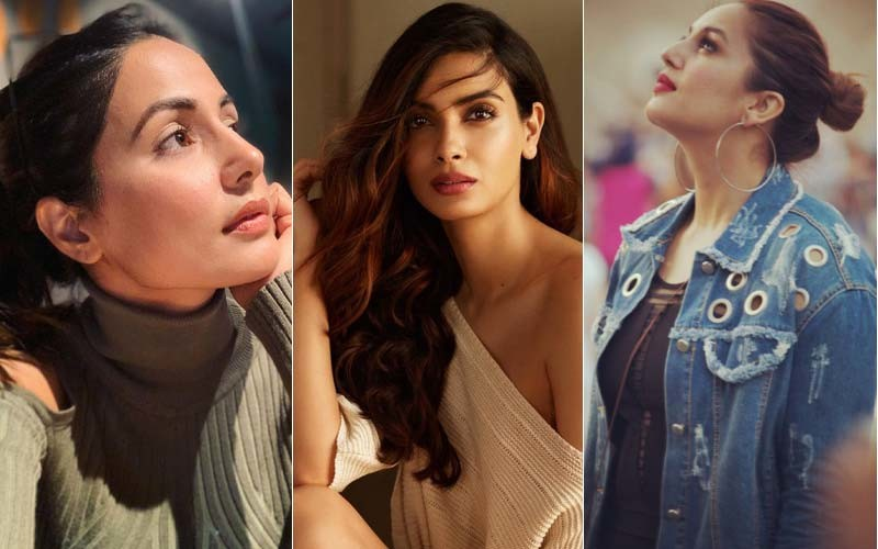 Hina Khan Diana Penty and Huma Qureshi