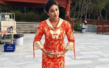 Hina Khan flies off to Hong Kong