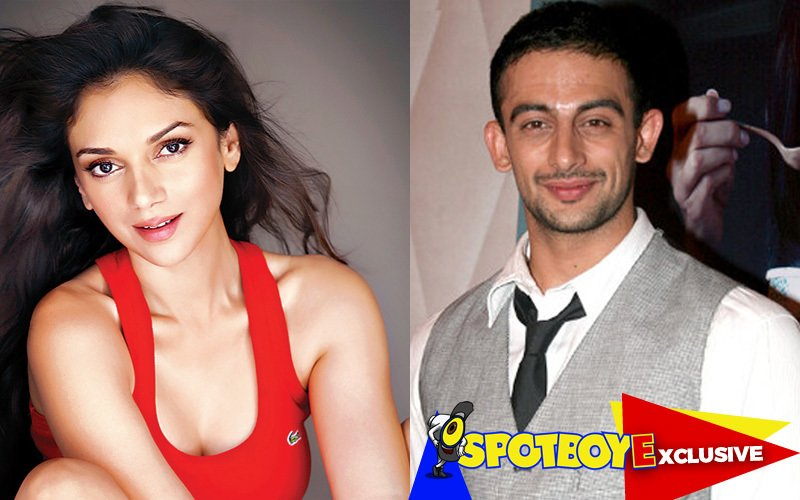 Former lovers Aditi Rao Hydari and Arunoday Singh reunite
