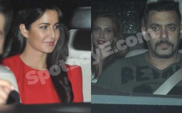 Salman's ex-flame Katrina meets his steady date Iulia at Sultan screening