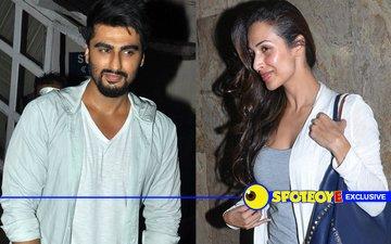 Last night, Malaika Arora and Arjun Kapoor were together