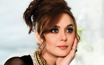 Preity Zinta's first message as Mrs Goodenough