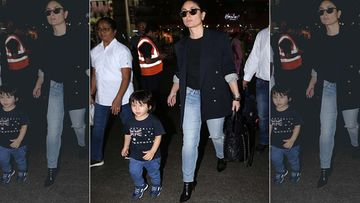 Can You Spot Kareena Kapoor Khan's Souvenir For Son Taimur Ali Khan In The Picture?
